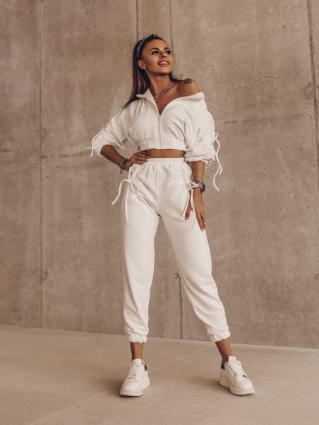 Spodnie dresowe Twine ecru