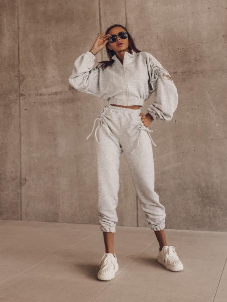 Spodnie dresowe Twine szare