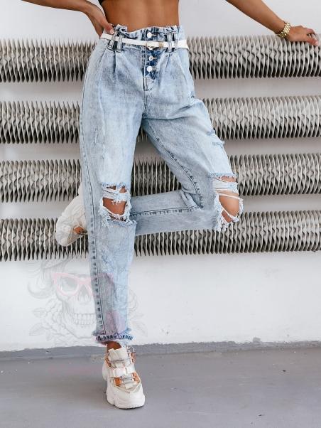 Spodnie jeansowe Rock Cube...