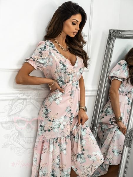 Sukienka z falbanką Sophu...