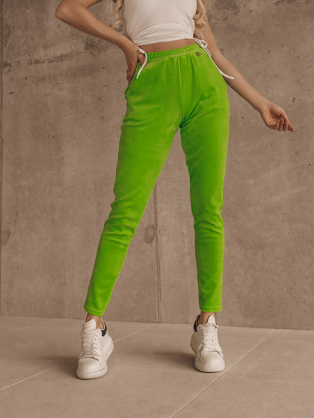 Spodnie welurowe Easy Look...