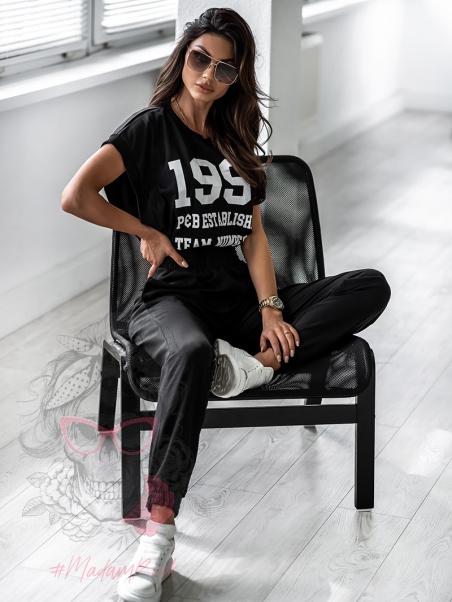 Spodnie Miami Code czarne
