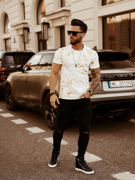 T-shirt męski Color Splash...