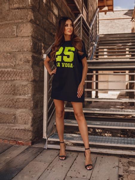 T-shirt z nadrukiem 25...