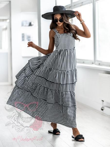 Sukienka letnia w kratkę...