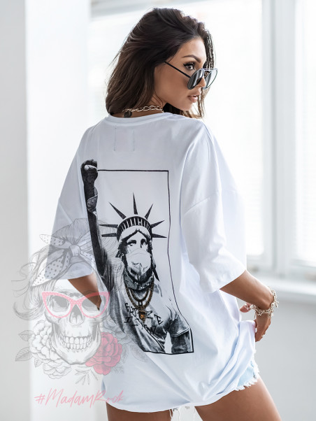 T-shirt oversize La Familia...