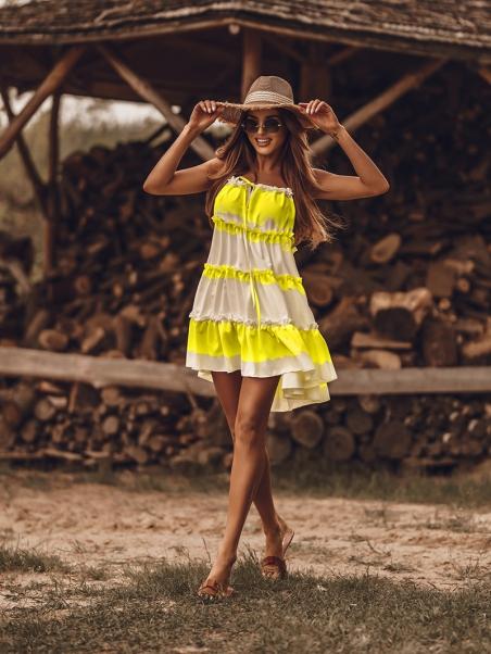 Sukienka letnia Dyed...