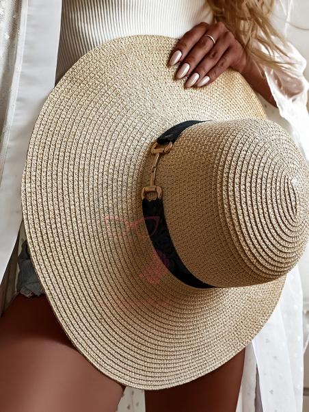 Kapelusz damski plażowy...