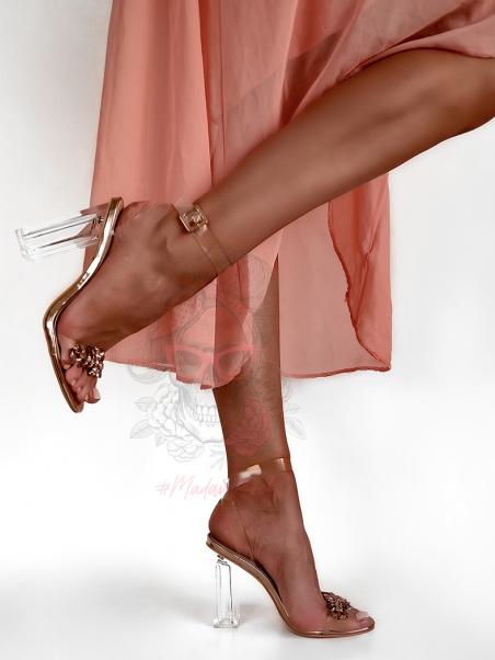 Sandałytransparentne Madam...