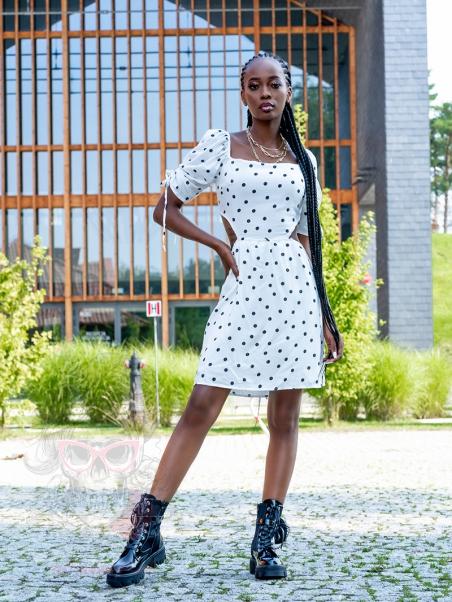 Sukienka w groszki Alicia...