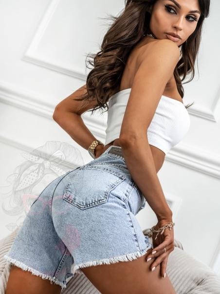 Spodenki jeansowe Madam...