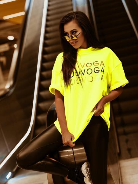 T-shirt bawełniany Gold...