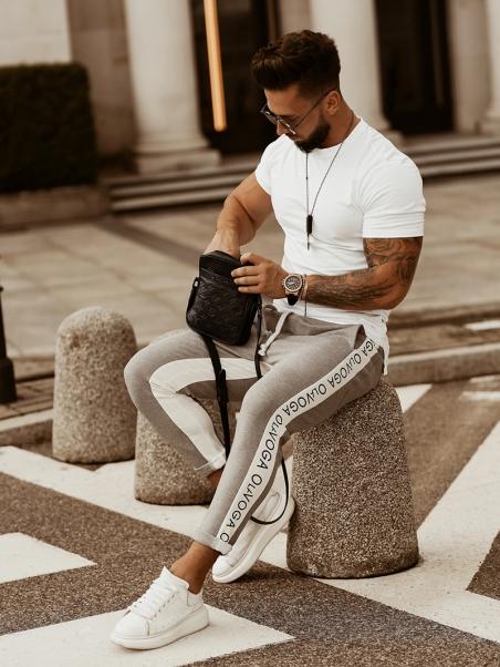 Spodnie dresowe Man Stripe...