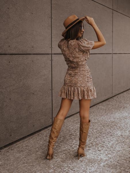 Sukienka z falbanką Fall...