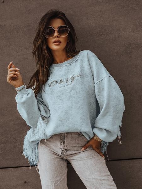 Bluza z frędzlami Brand...