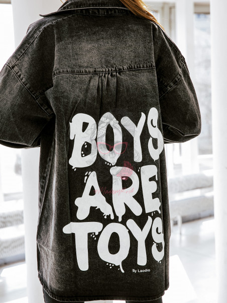 Koszula jeansowa Boys are...
