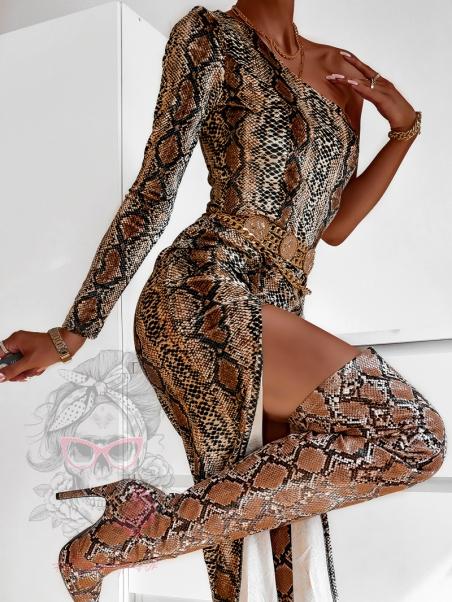 Sukienka midi welurowa...