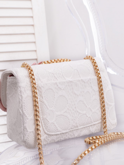 Torebka Mini Chanelka Lace White