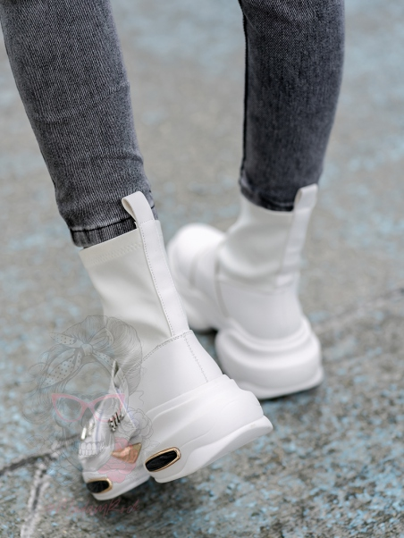 Sneakersy skarpety Madam...