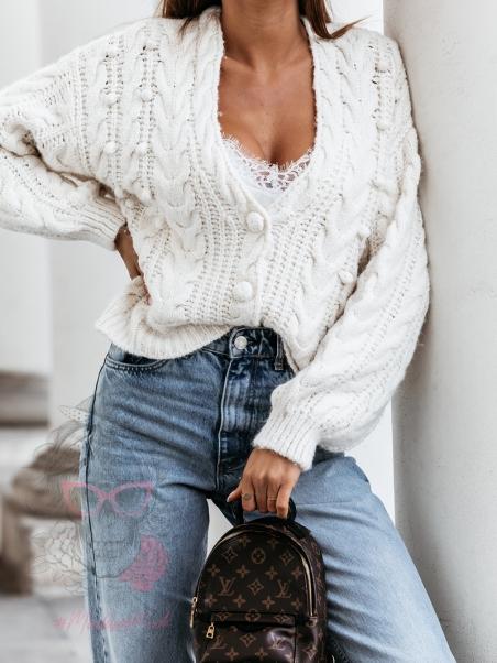 Sweter rozpinany Booble...