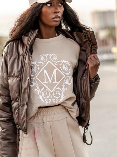 Komplet damski Marocan beżowy