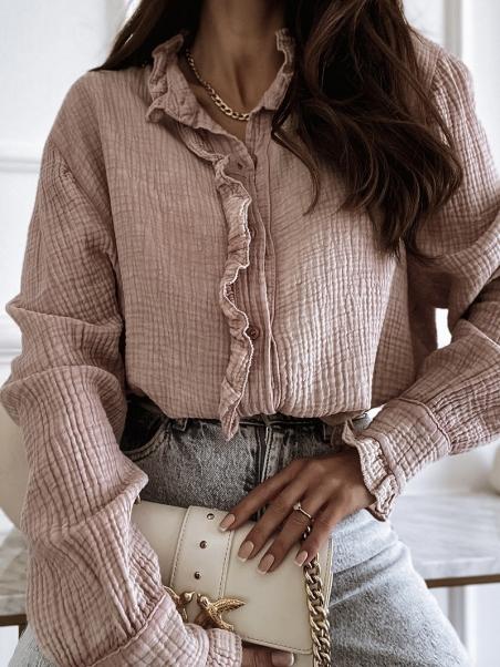 Koszula elegancka muślinowa...