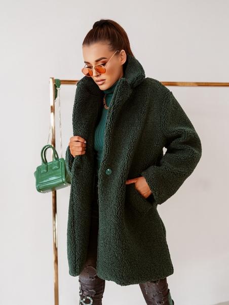 Płaszcz elegancki Lamb Long...