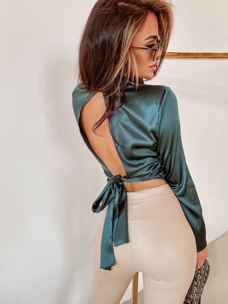 Bluzka satynowa elegancka...