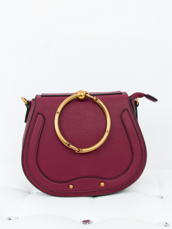 Torebka Madam Mini Bracelet Bordo