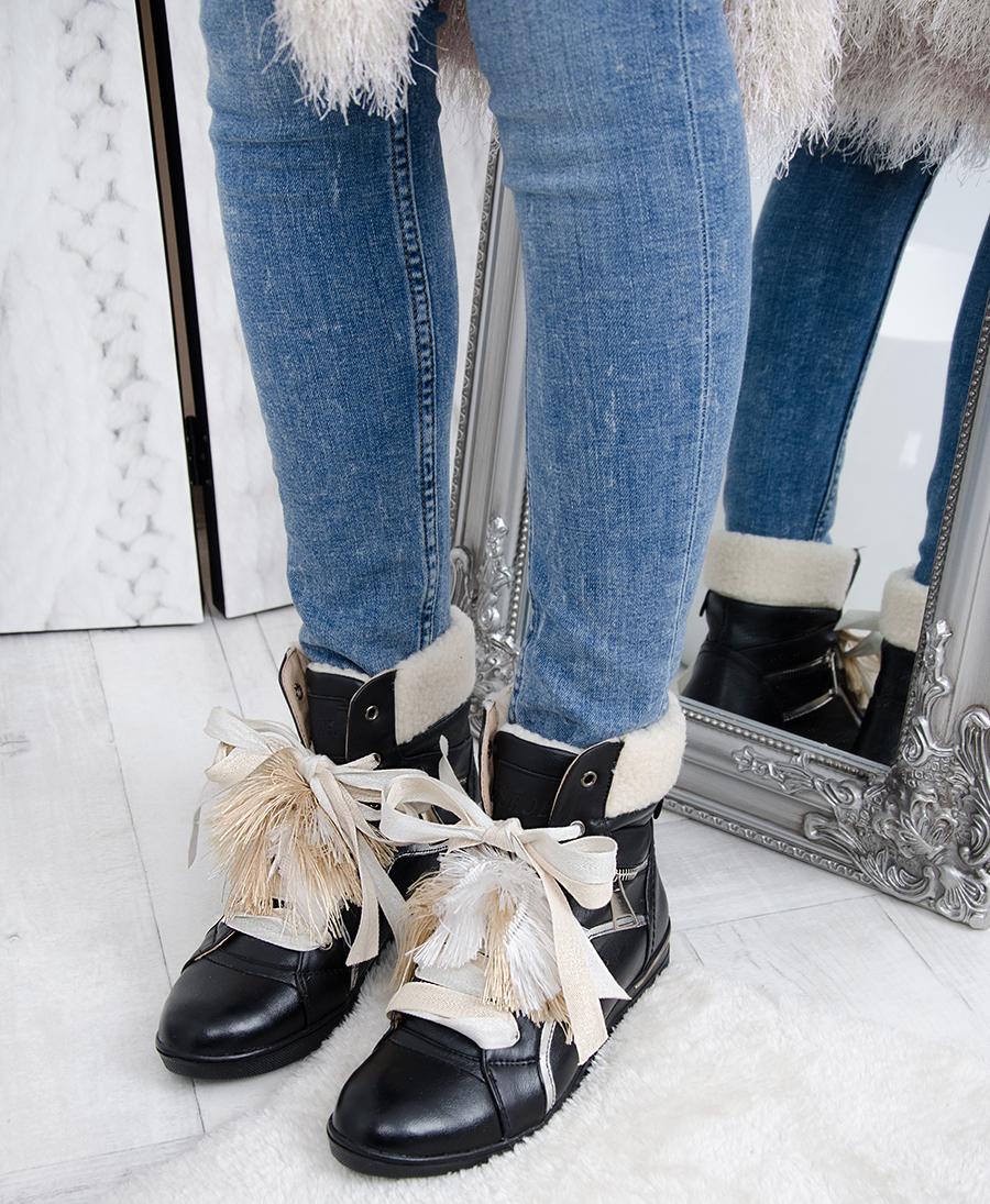 Sneakersy Madam Ba- Ga Czarne