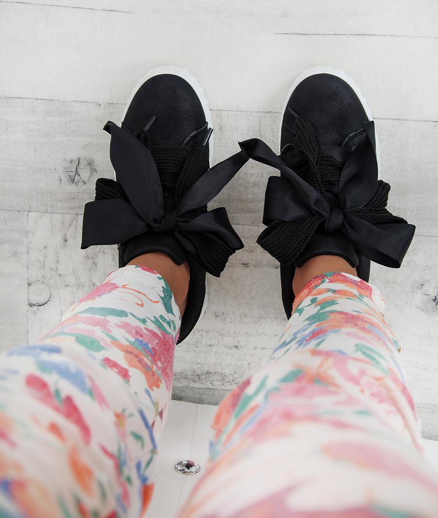 Sneakersy z Futrem Lady Mild Zielone