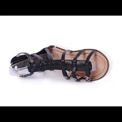 Gladiatorki sandały czarne